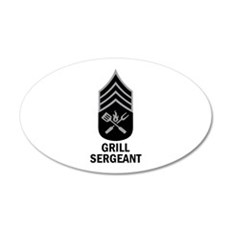 GRILL SERGEANT 2 Wall Decal