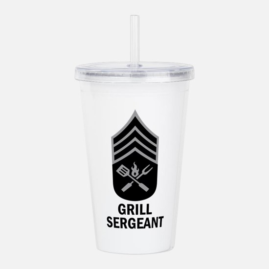 GRILL SERGEANT 2 Acrylic Double-wall Tumbler