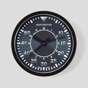 Huntington Pilot Wall Clock