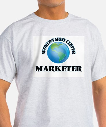 World's Most Clever Marketer T-Shirt