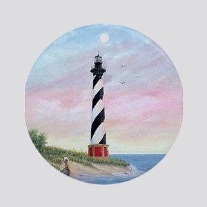 Hatteras Sunrise Ornament (Round)