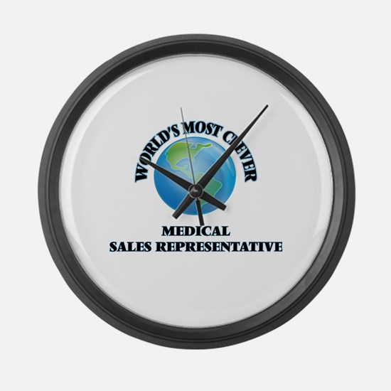 World's Most Clever Medical Sales Large Wall Clock