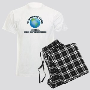 World's Most Clever Medical S Men's Light Pajamas