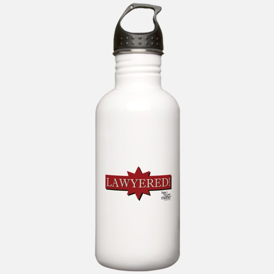HIMYM Lawyered Water Bottle
