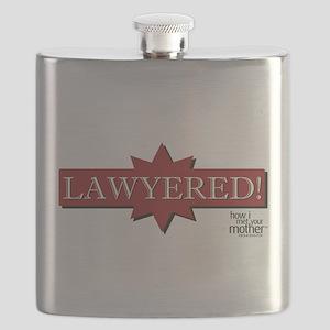 HIMYM Lawyered Flask