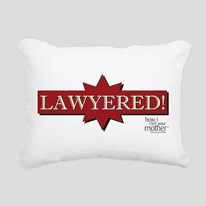 HIMYM Lawyered Rectangular Canvas Pillow