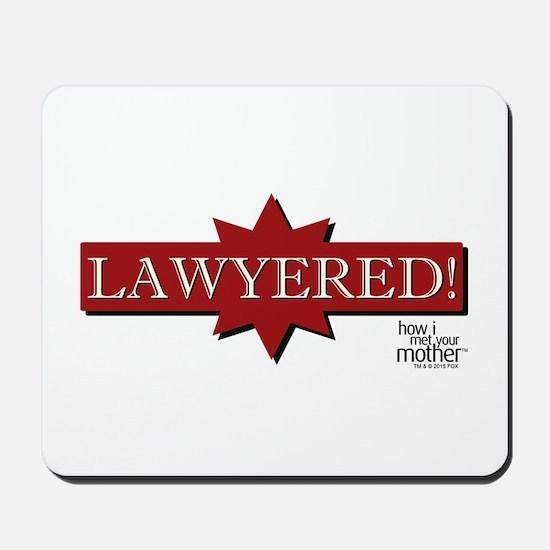 HIMYM Lawyered Mousepad