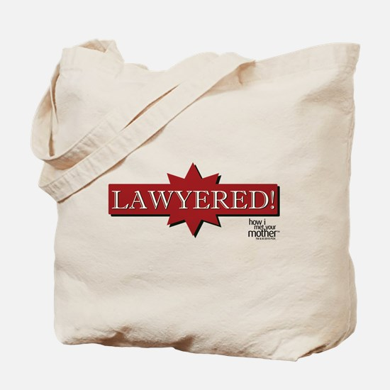 HIMYM Lawyered Tote Bag