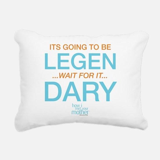 HIMYM Legendary Rectangular Canvas Pillow