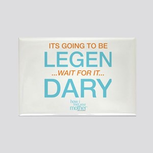 HIMYM Legendary Rectangle Magnet