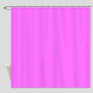 Bright Magenta Pink Shower Curtain