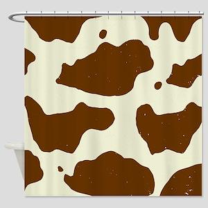 Cowhide Shower Curtain