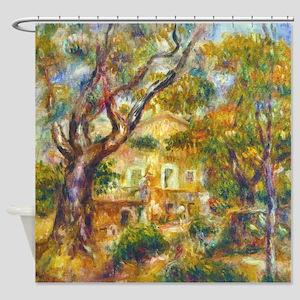 La Ferme des Collettes Renoir Shower Curtain