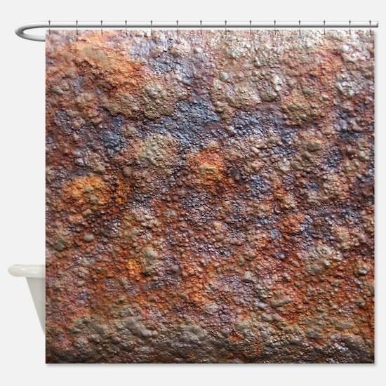 Rusty Shower Curtain