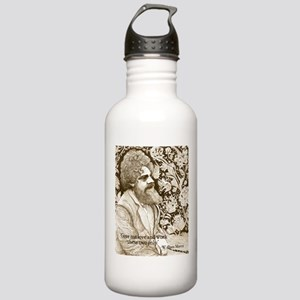 William Morris on Love and Work Water Bottle