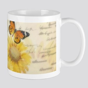 Sunflowers and butterflies Mugs