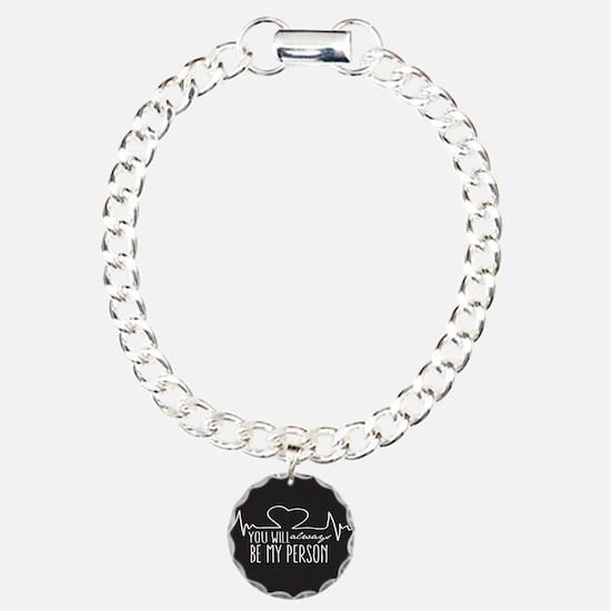 Unique Greysanatomytv Charm Bracelet, One Charm