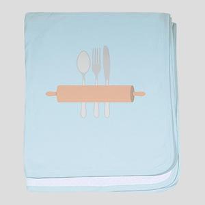 Rolling Pin & Utensils baby blanket