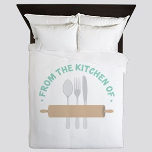 From the Kitchen of... Queen Duvet