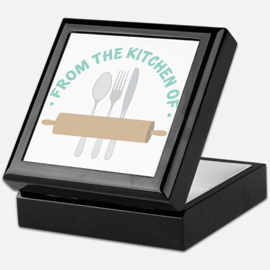 From the Kitchen of... Keepsake Box