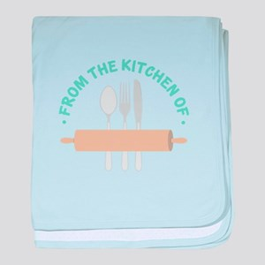 From the Kitchen of... baby blanket