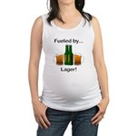Fueled by Lager Maternity Tank Top