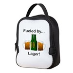 Fueled by Lager Neoprene Lunch Bag