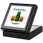 Fueled by Lager Keepsake Box