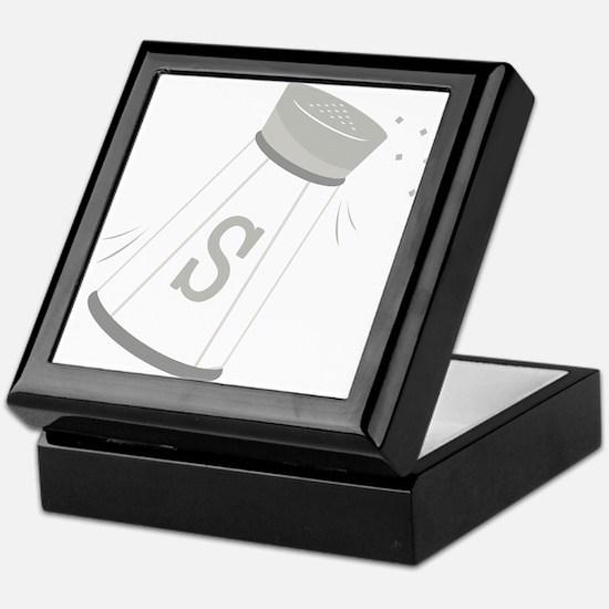 Salt Shaker Keepsake Box
