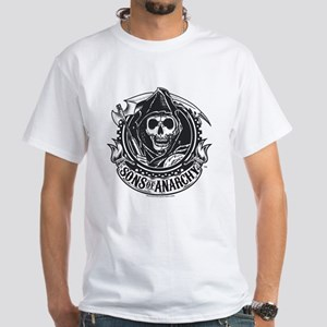 Sons of Anarchy White T-Shirt
