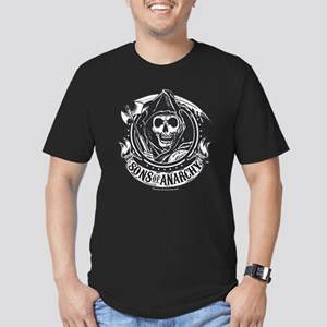 Sons of Anarchy Men's Fitted T-Shirt (dark)