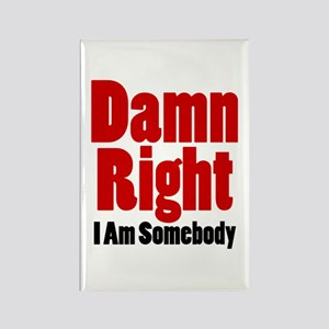 Damn Right I Am Somebody Magnets