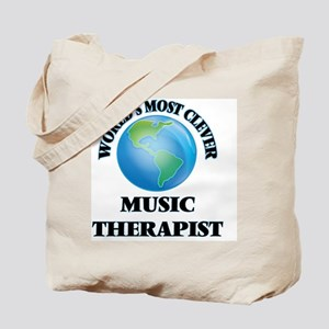 World's Most Clever Music Therapist Tote Bag