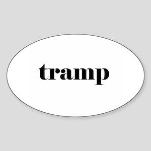 tramp Sticker