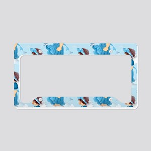 I can fly too - License Plate Holder