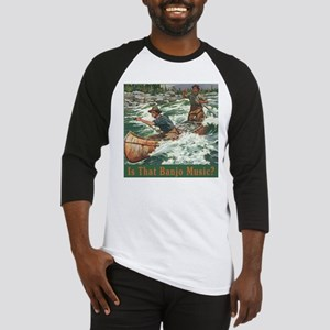 Banjo Music White Water Baseball Jersey