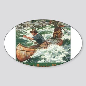 Banjo Music White Water Sticker