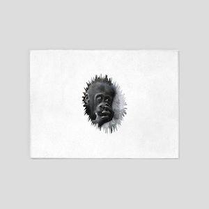 Gorilla 001 5'x7'Area Rug