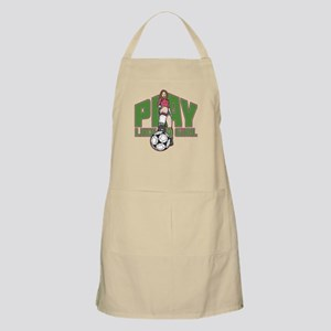 Soccer Play Like a Girl Apron
