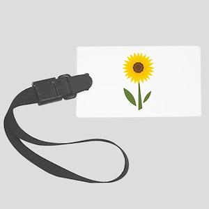 Sunflower Base Luggage Tag