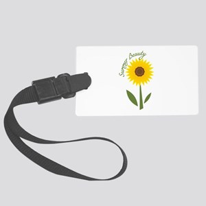 Summer Beauty Luggage Tag