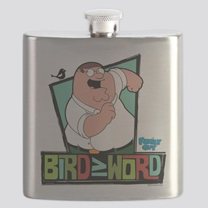 Family Guy Bird is the Word Flask