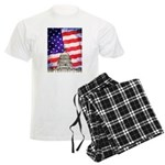 American Flag And Capitol Building Pajamas
