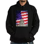 American Flag And Capitol Building Hoodie