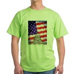American Flag And Capitol Building T-Shirt