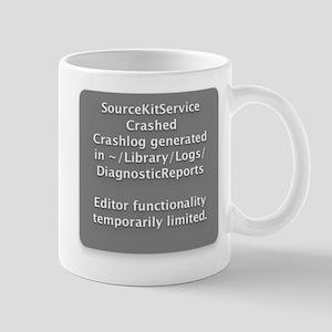 SourceKitService Crashed Mug