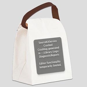 SourceKitService Crashed Canvas Lunch Bag