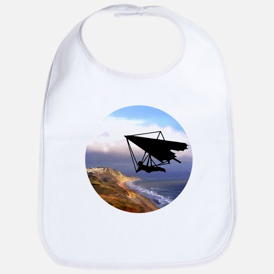 Hang Gliding Over the California Coast Bib