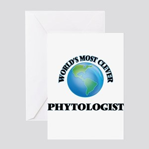World's Most Clever Phytologist Greeting Cards