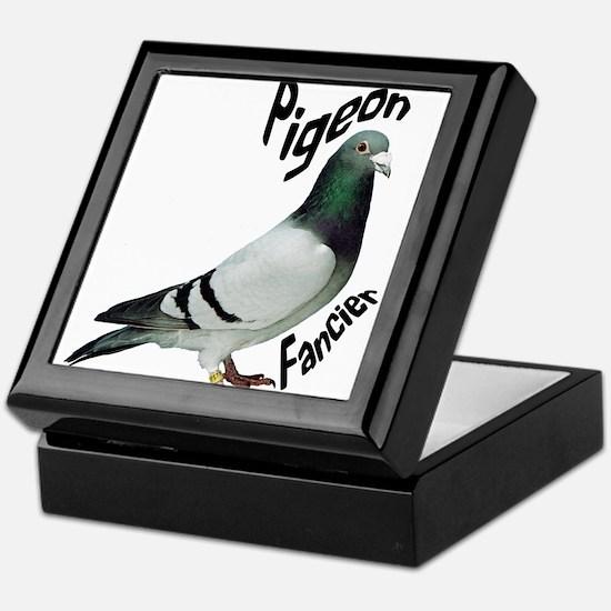 Pigeon Fancier Keepsake Box